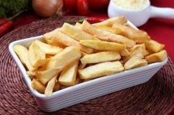 receta de mandioca frita
